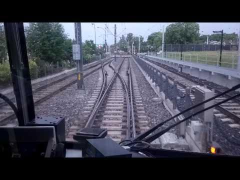 ETS LRT U2 Car #1012 (Capital Line) Southbound in Edmonton Alberta June 20th 2017