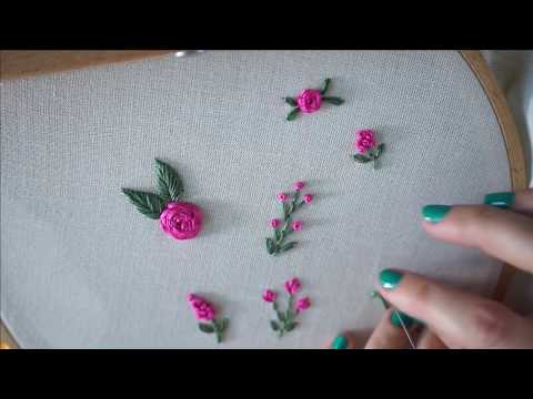 Make Your Own Floral Embroidery Designs