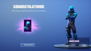 I Tried Out For The RAREST HONOR GUARD Fortnite Clan With (OG SKINS) And This Happened...