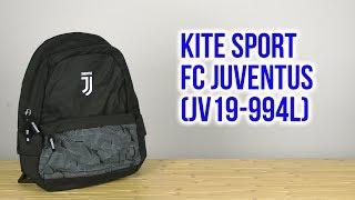 Розпакування Kite FC Sport Juventus 21 л Чорний JV19-994L