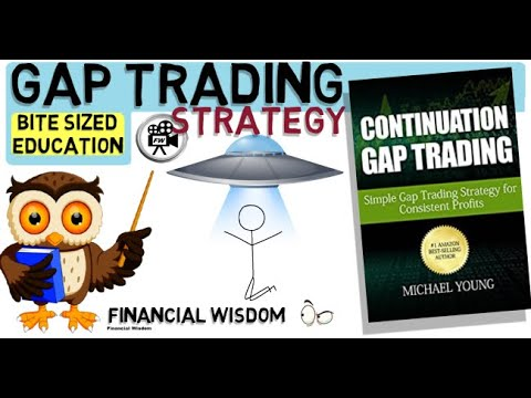 GAP TRADING – TRADING THE GAP – GAP AND  GO – CONTINUATION PATTERN. (Stock trading strategy)