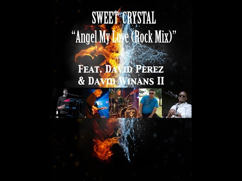 "Sweet Crystal ""Angel My Love (Rock Mix)"" Official  Lyric Video"