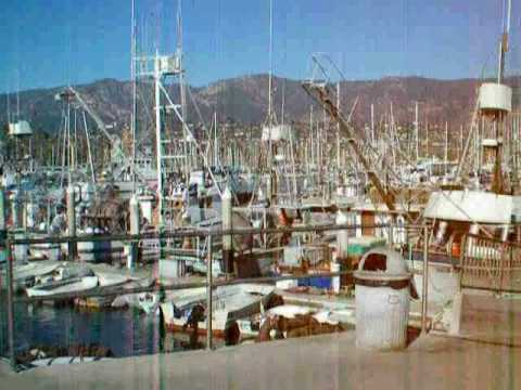 The harbour at Santa Barbara