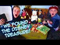 What's Inside Mr. E's Treasure Chest! Walt Disney Secret Journal And Relics! I The Beach House