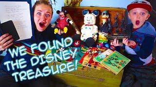 Whats Inside Mr. Es Treasure Chest! Walt Disney Secret Journal And Relics! I The Beach House