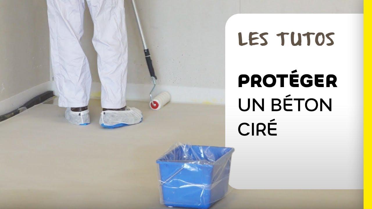Comment Nettoyer Le Beton Ciré comment protéger un béton ciré ? | les tutos weber