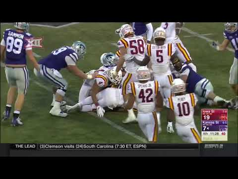 Iowa State vs Kansas State Football Highlights