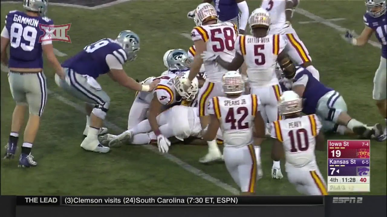 iowa state vs kansas state football highlights youtube