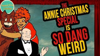 Little Orphan Annie Cartoon is SO DANG WEIRD