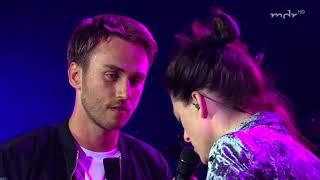 Clueso feat Kat Frankie Wenn Du liebst live   Erfurt Domplatz 2017