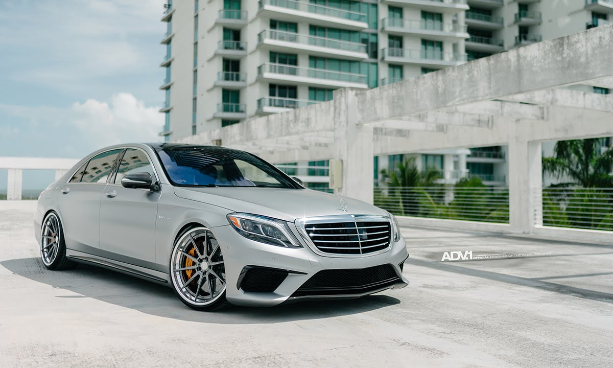 ADV.1 RENNtech Tuned Mercedes S63 AMG Sedan - YouTube