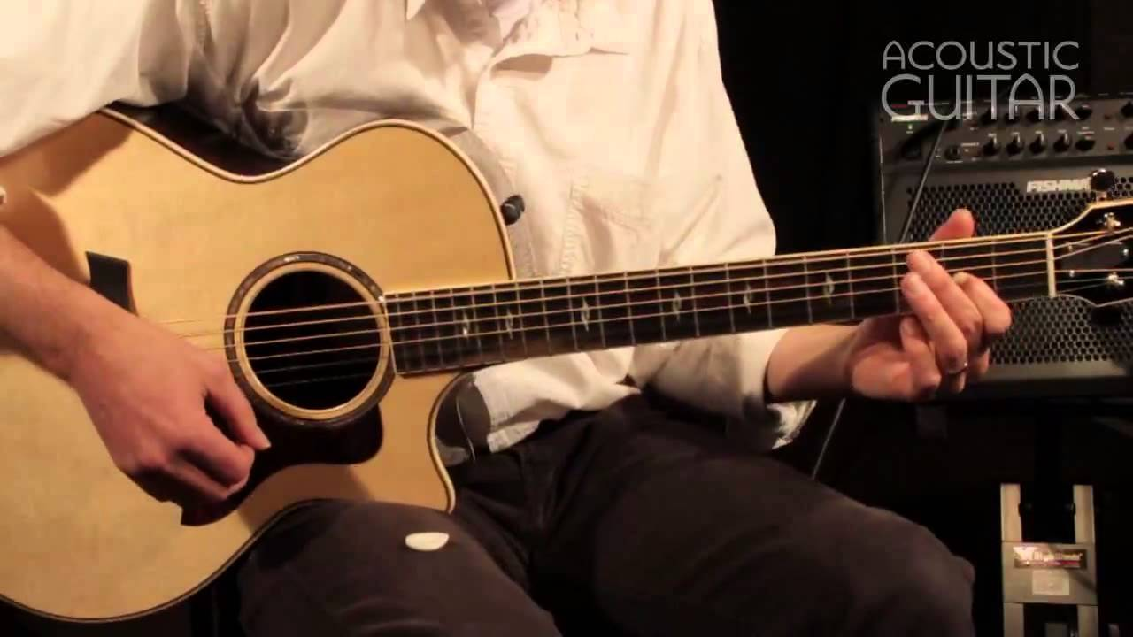 Taylor 814CE guitar review from Acoustic Guitar | Taylor Guitars