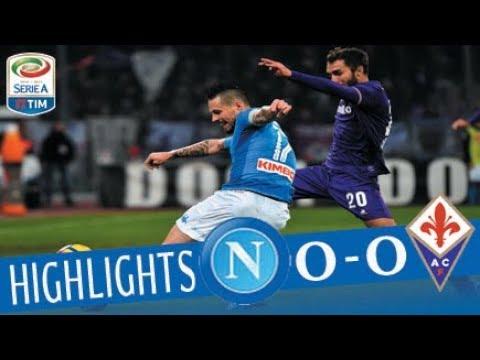 Napoli - Fiorentina 0 - 0 - Highlights - Giornata 16 - Serie A TIM 2017/18