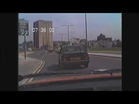 No 26. Dashcam 1987 Style The Bullring To Heath Common Wakefield 5.5.87
