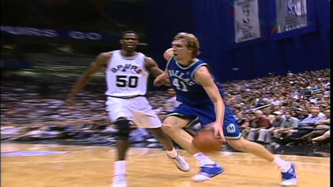 a73bd3ae972d Dirk Nowitzki s First Career 40-Point Game - YouTube
