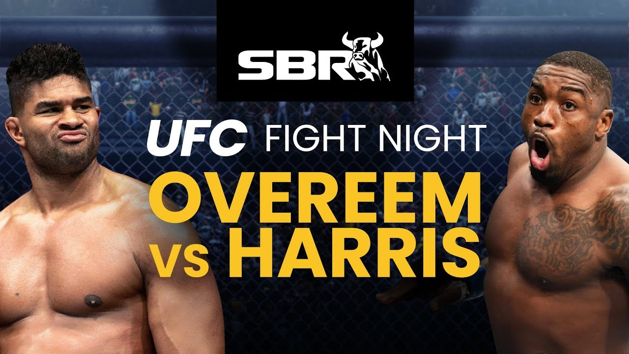 UFC Fight Night_ Overeem vs. Harris fight card and start time