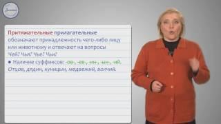 Русский 10 класс.  Имя прилагательное как часть речи