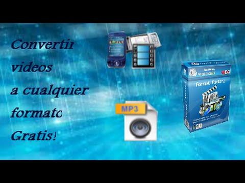 COMO CONVERTIR VIDEOS A CUALQUIER FORMATO GRATIS! (MP4|AVI|3GP|WMV|MP3)