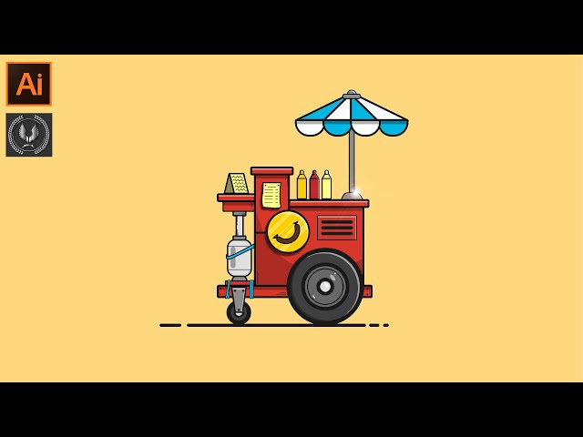 Adobe Illustrator CC Tutorial Flat Design