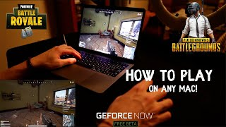 How to play PUBG/FORTNITE on MAC for FREE (2019)