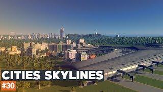 Cities Skylines #30 | STREFA PRZY LOTNISKU