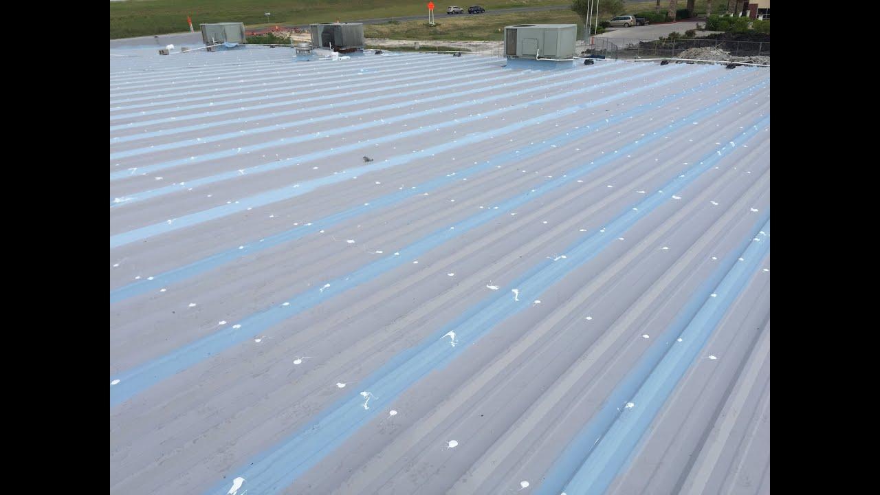 Conklin Metal Restoration Seamless Roofs Llc Youtube