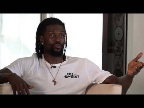 Emmanuel Adebayor opens up about his career, his family and himself