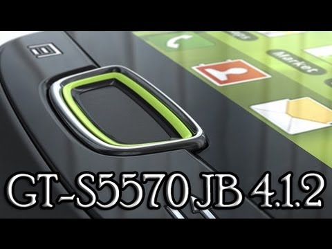 Galaxy mini gets Android 4.1.2 Jelly Bean - s5570 - thewhisp - xda