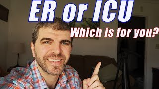 ER vs ICU: Which is for you?