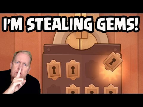 I'm STEALING Gems! Galadon is the King of Thieves!