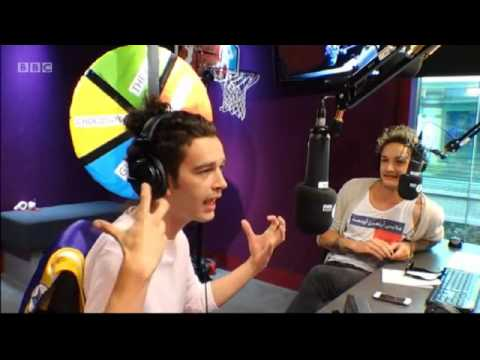 The 1975 on The Radio 1 Breakfast Show on July 17th 2014