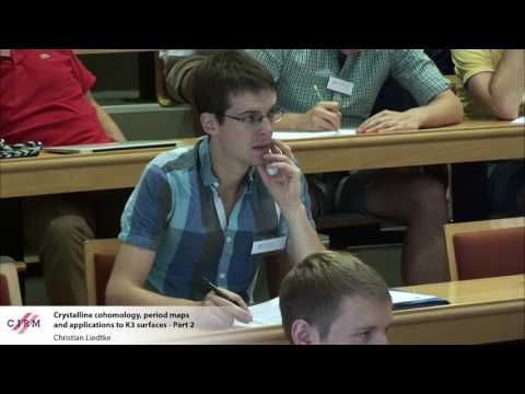 Christian Liedtke: Crystalline cohomology, period maps, and applications to K3 surfaces