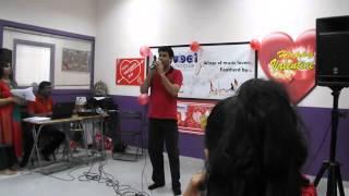 UnniKrishnan performing Kathal Rojave............