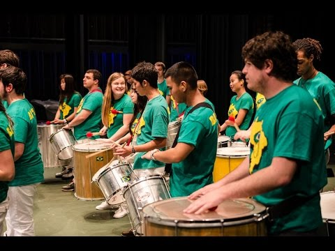 UC Davis's Samba School and Afro-Cuban Percussion Ensemble