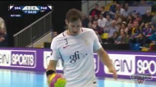 Saint-Raphaël Paris-SG Handball Coupe de la Ligue 2017 1re demi-finale -
