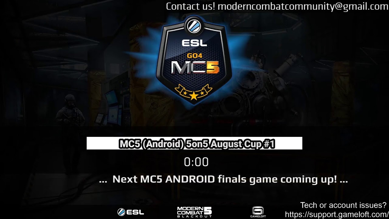 MC5 (Android) 5on5 August Cup #1