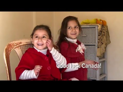 Syrian Refugee Cousins Head To Canada