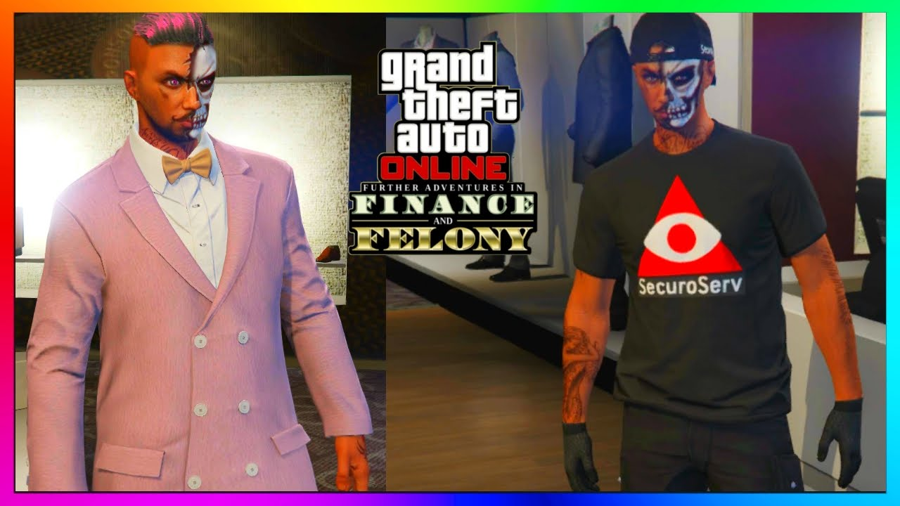 GTA 5 Online - All NEW Clothing CEO Outfits Accessories Shoes etc - u0026quot;FINANCE AND FELONY DLC ...