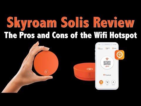 Skyroam Solis Review — WiFi Hotspot for International Travel