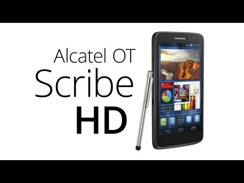 Alcatel One Touch Scribe HD (recenze)