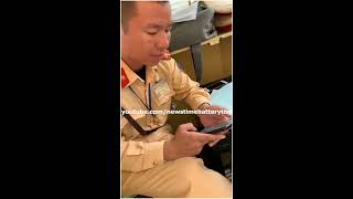 CSGT Và Người Dân Quá Khích Xin Ngừng Quay | News Time Battery Tool