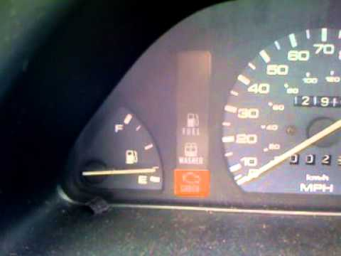 Engine Light Codes >> 1994 Mazda Protege check engine lite code - YouTube