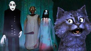 ПРЯЧУСЬ ОТ БАБУЛИ В ЛЕСУ! / Slendrina The Forest (Horror Mobile Game)