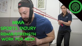 MMA / BJJ Sports Injury Rehab & Strength Work for the Neck