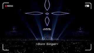BTS memories 2017 live: born singer
