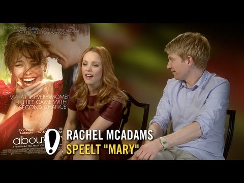 About Time - Interview - Rachel McAdams + Domhnall Gleeson + Bill Nighy + Richard Curtis - Pathé
