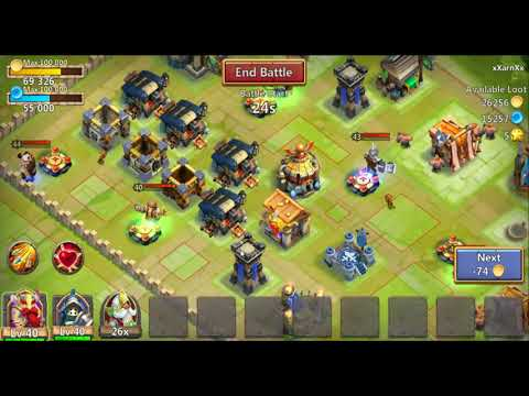 Castle Clash Gameplay On PC! And Tutorial!