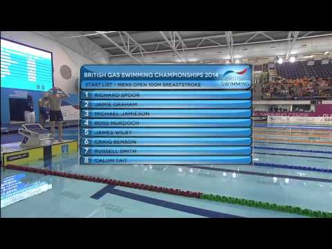British Gas Swimming Championships 2014 - Finals Day Two