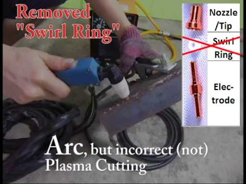 Plasma Cutter Problem - No Arc / Not Cutting, Any Suggestions? (*With Update 17/12/2019*)