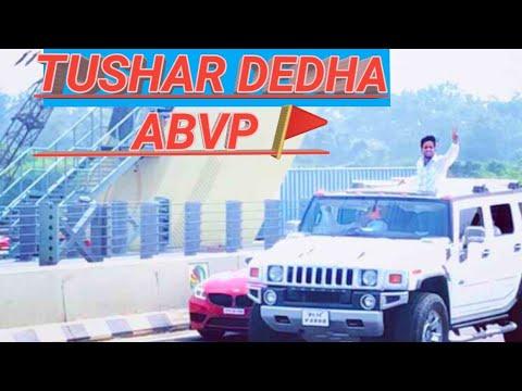 Tushar Dedha ||RALLY DUSU 2019 || UNIVERSITY OF DELHI ||GURJAR||ABVP ||
